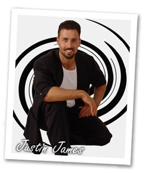 Hypnotist Justin James, Americas Top Comedy Hypnotist Promotional Picture.
